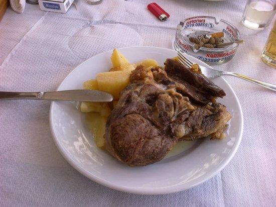Maria Taverna: Agnello e patate al forno...