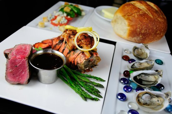 The Famous Steak House: Our Signature Surf & Turf