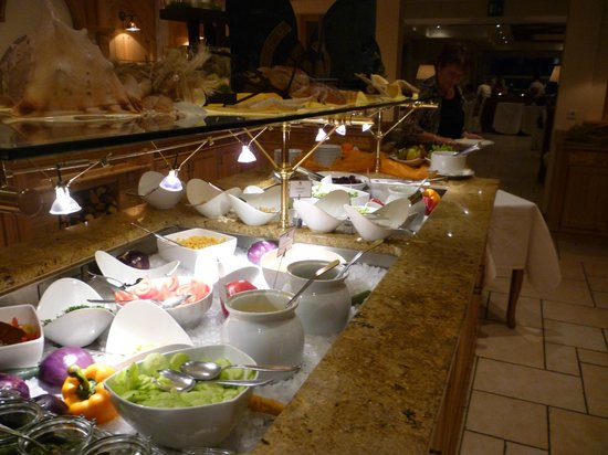 Luxury DolceVita Resort Preidlhof: Buffet
