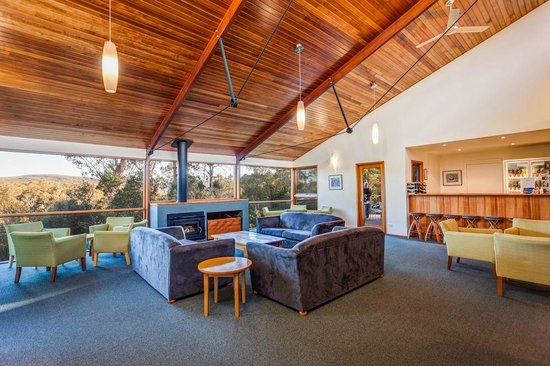 Cradle Mountain Wilderness Village: Guest Lounge