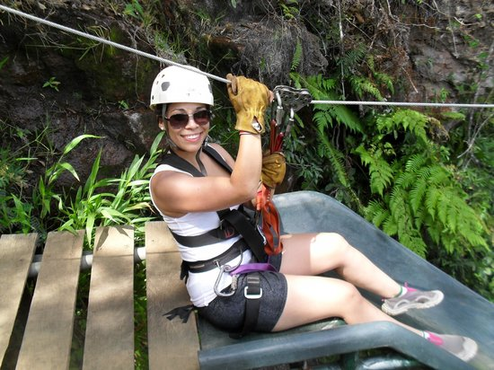 Adventure Tours Hacienda Guachipelin: Canyon Canopy Tour