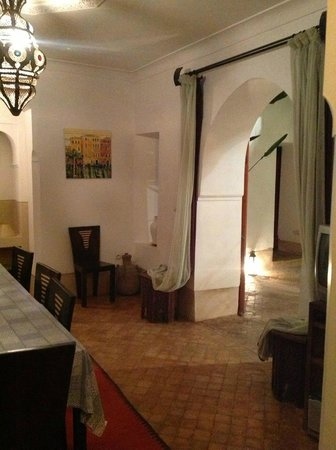 Riad Dar Rassam : La salle a manger