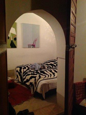 Riad Dar Rassam: L'une des chambres