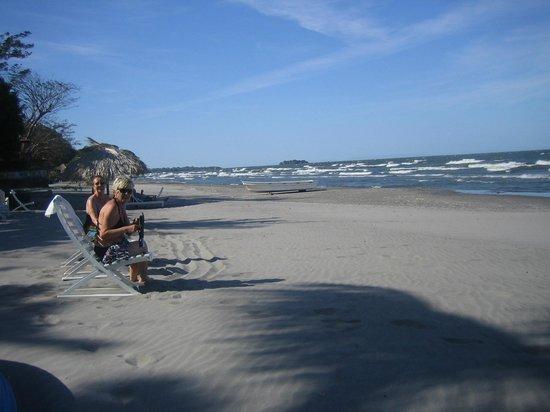 Las Kabanas: am Strand des riesigen Nicaragua-Sees