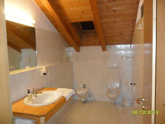 Hotel Langgenhof: bagno stanza hotel: bellissimo