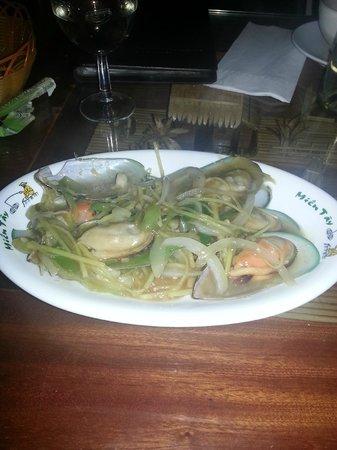 Mien Tay : tasty mussels