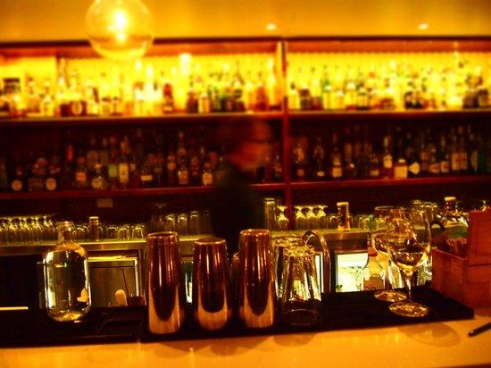 Bar None: back bar