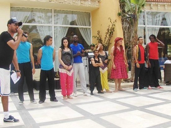 Dessole Abou Sofiane Resort: Some of the animation team always entertaining