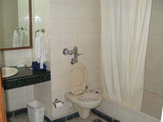 Nirula's Hotel: bathroom