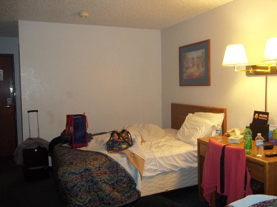 Super 8 by Wyndham Newburgh/West Point Stewart Intl Airport: Notre chambre