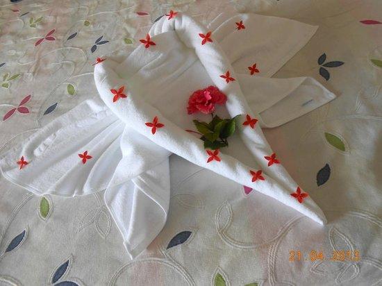 Iberostar Ensenachos: Pretty towel art