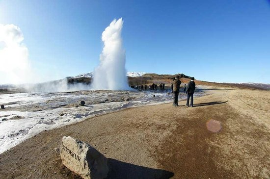 Season Tours - Day Tours: Strokkur - Geyser area