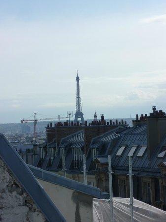 Citadines Montmartre Paris: vue de la terrasse sur le toit