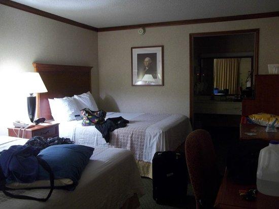BEST WESTERN Fairfax: Notre chambre