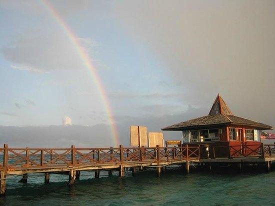 Seaventures Dive Rig: Sipadan Island (Marine Park Office)