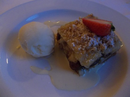 Kilronan Castle Estate & Spa: Delicious dessert