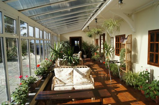 Renvyle House Hotel: This is the conservatory