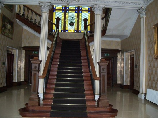 Lyrath Estate Hotel & Spa: stairway to bedrooms