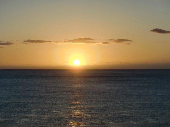 Hawaiian Princess Resort: straight out of the room
