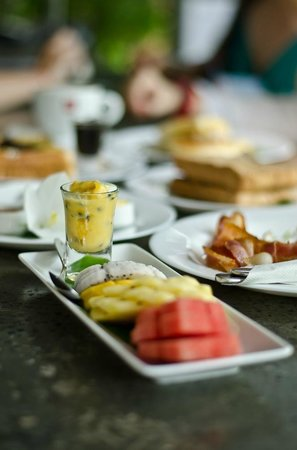 Kia Kaha Villa: Breakfast selection at Pippeli