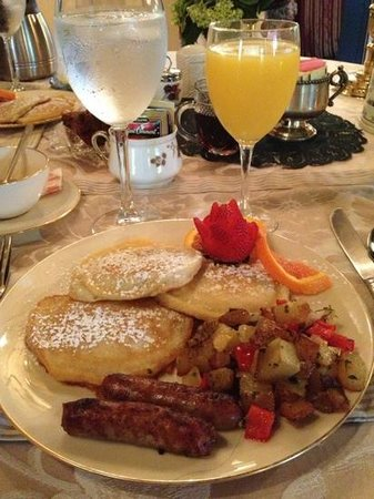Gramercy Mansion : Breakfast simply delicious