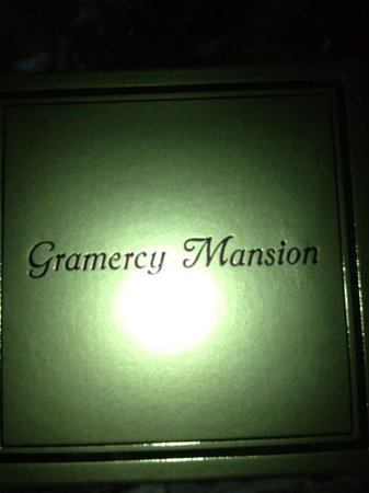 Gramercy Mansion: our gifts