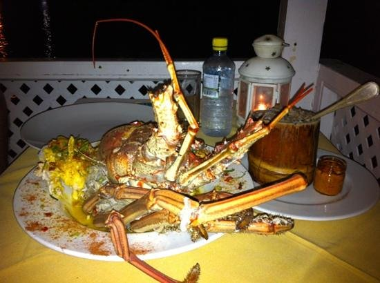 BB's Crabback: massive lobster!