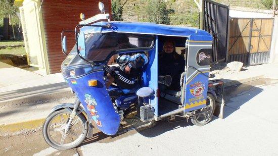 El Albergue Ollantaytambo : Take a tuk-tuk to town