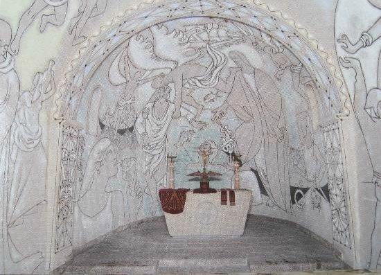 Chapelle de Saint Pierre des Pecheurs: l'abside