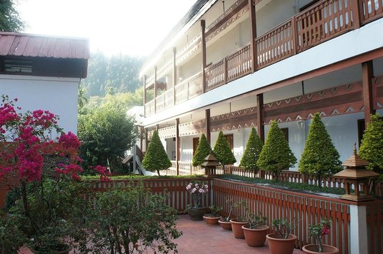 Baiyoke Chalet Hotel: 中庭