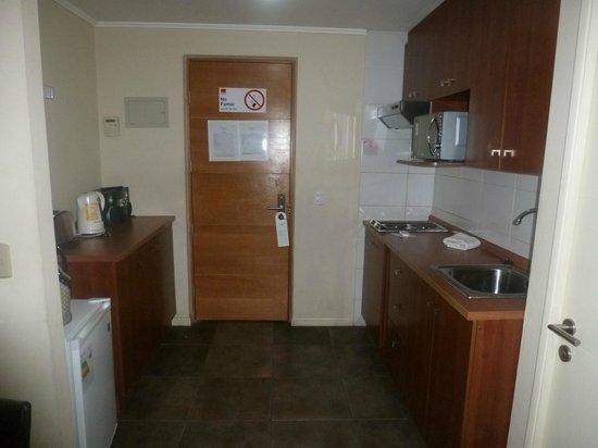 Agustina Suite: cozinha do apartamento