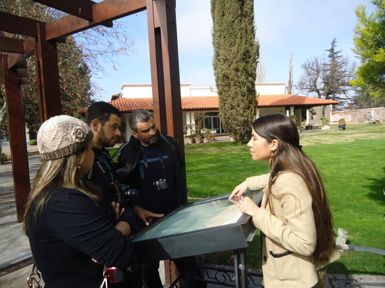 Valeria Terrazas De Los Andes Tour Guide Picture Of