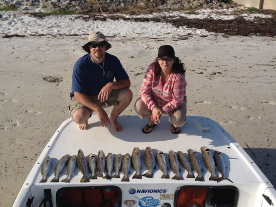 Saltwater Assassin Fishing Charters: Caught lots of fish this past weekend
