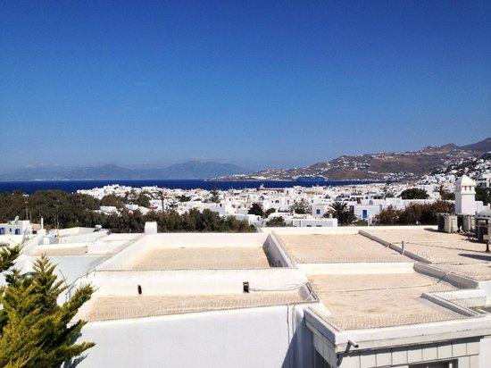 Hotel Belvedere: Vista desde zona piscina