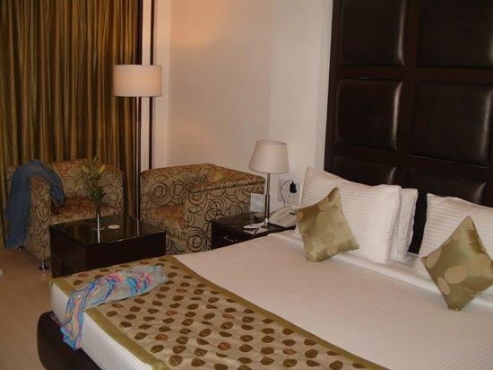 Hotel Shanti Palace (Mahipalpur): bed