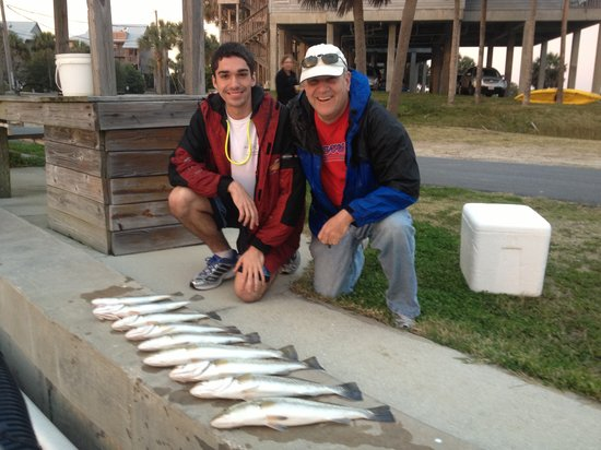 Saltwater Assassin Fishing Charters: Not bad for 20mph winds