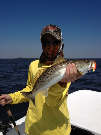 Saltwater Assassin Fishing Charters: The Versharon Family enjoying a nice day