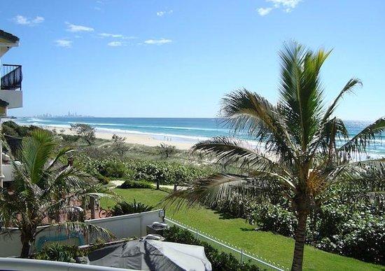 Oceanside Resort: View from balcony