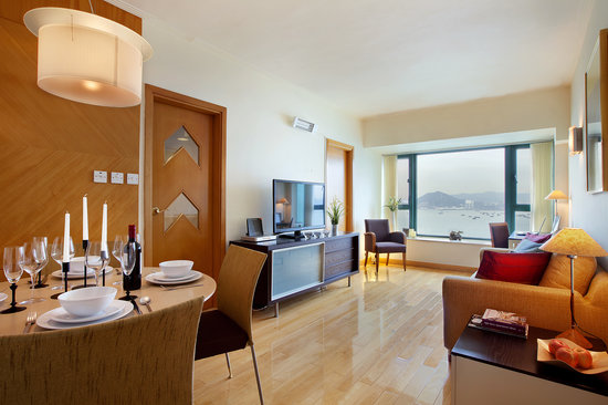 Manhattan Heights Serviced Apartments : Stylish living room