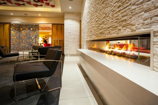Restaurant Esca : Guest Lounge with fireplace