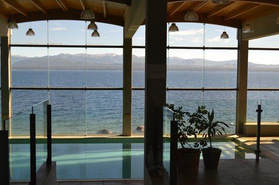 Alma del Lago Suites & Spa: LA PILETA CON LA VISTA MAS LINDA
