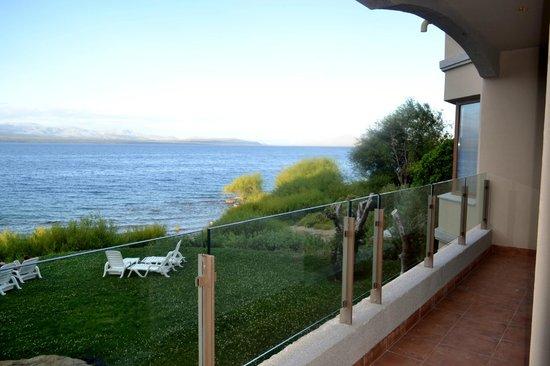 Alma del Lago Suites & Spa: BALCON CON VISTA AL LAGO