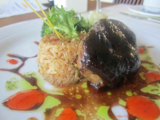 All Ritmo Cancun Resort & Waterpark: dinner at ostras (pekin duck)