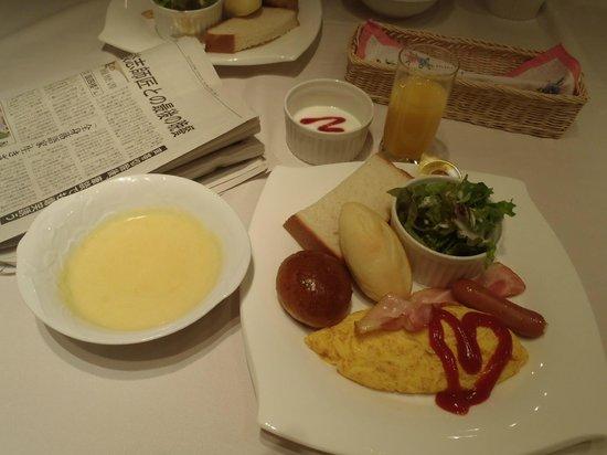Shonan Crystal Hotel : 朝食