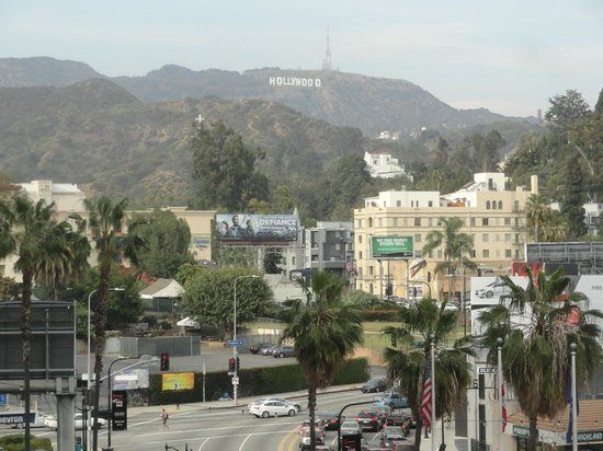 Hollywood Walk of Fame: Vista desde Centro Comercial