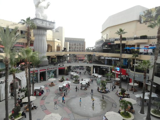 Hollywood Walk of Fame: Centro Comercial