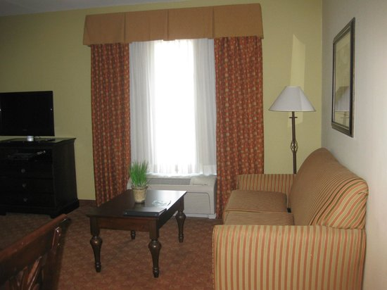 Homewood Suites by Hilton McAllen: Mini Living room