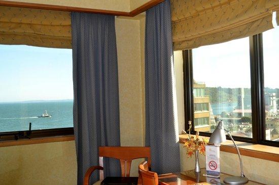 Hotel Gran Pacífico: VISTA ESPECTACULAR AL PACIFICO Y A LA CIUDAD