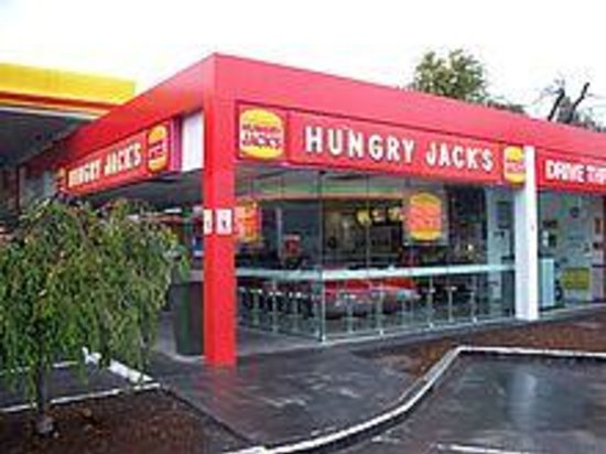 Foto Hungry Jacks Newcastle Airport