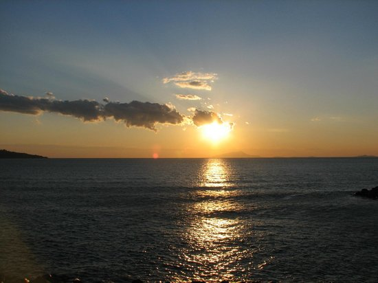 Hotel Giosue a Mare: first Sunset in Sorrento